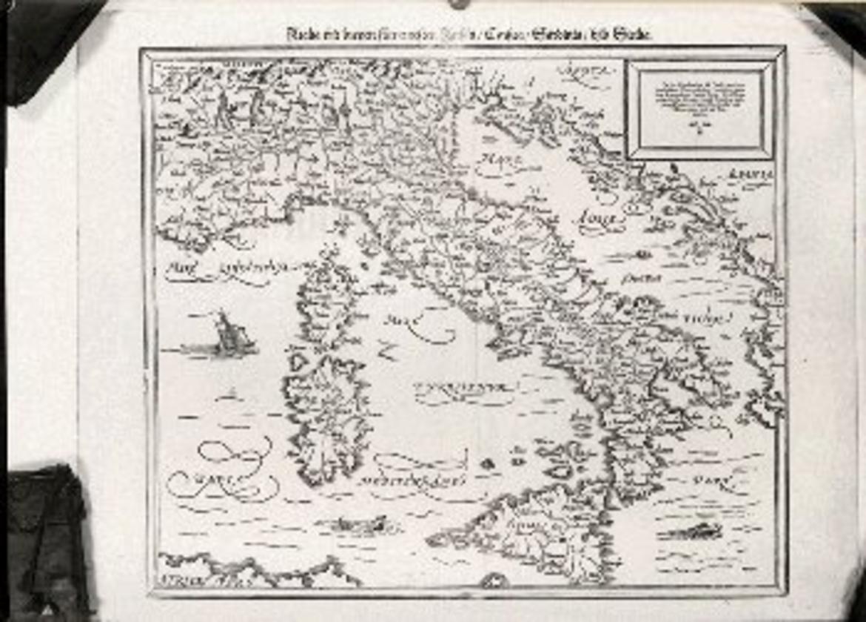 Cartina Geografica Antica.Riproduzione Carta Geografica Antica D Italia Trentino Cultura