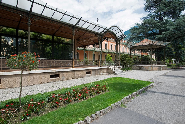 Die zentrale g rten von arco trentino cultura for Piani di veranda coperta