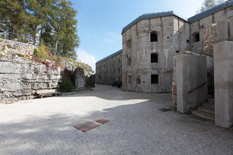 Forte Belvedere imagefull Sentinelle di Pietra, spettacolo al Forte Dossaccio