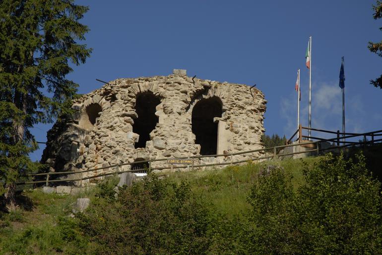 Forte Strino imagefull Sentinelle di Pietra, spettacolo al Forte Dossaccio