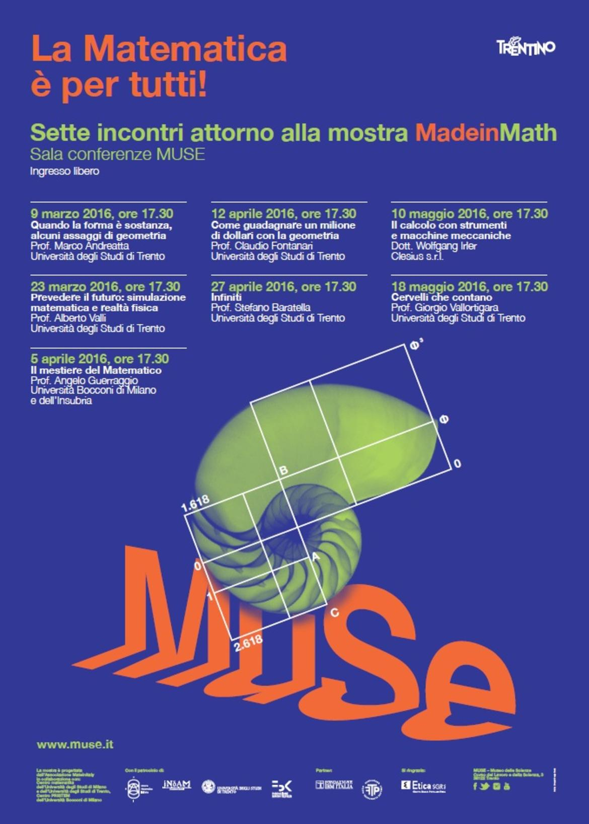 Maths is for everyone! - Trentino Cultura