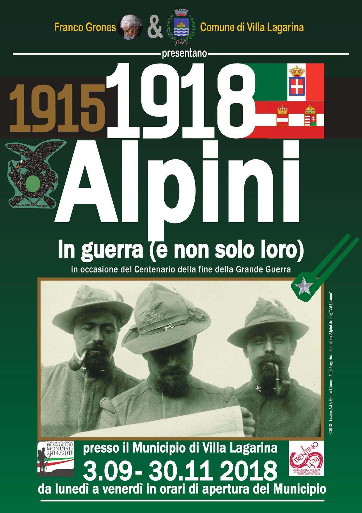 1915-1918. Alpini at War - Trentino Cultura afd39e1af177