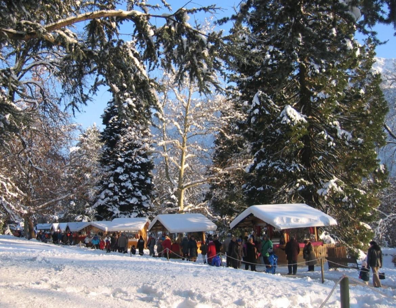 mercatini di natale nel parco degli asburgo trentino cultura