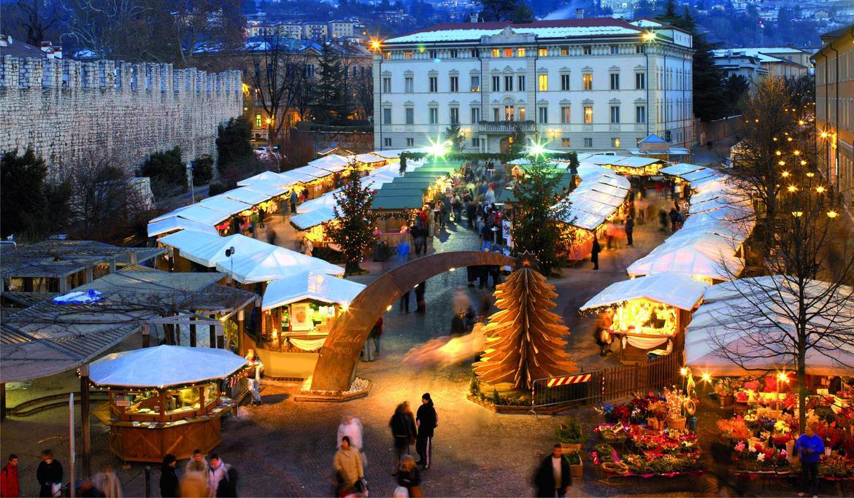 Natale A Trento.Mercatino Di Natale Di Trento 2016 Trentino Cultura