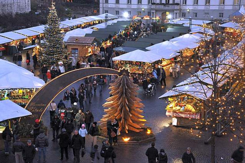 Natale A Trento.Mercatini Di Natale Di Trento Trentino Cultura